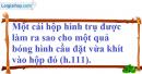 Bài 44 trang 174 SBT toán 9 tập 2