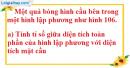 Bài 33 trang 171 SBT toán 9 tập 2