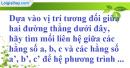 Bài 11 trang 7 SBT toán 9 tập 2