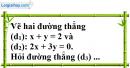 Bài 14 trang 8 SBT toán 9 tập 2
