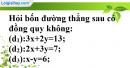 Bài 15 trang 8 SBT toán 9 tập 2