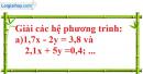Bài 17 trang 9 SBT toán 9 tập 2
