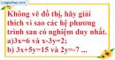 Bài 2.1, 2.2 phần bài tập bổ sung trang 8 SBT toán 9 tập 2