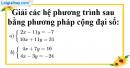 Bài 25 trang 11 SBT toán 9 tập 2