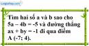 Bài 28 trang 11 SBT toán 9 tập 2