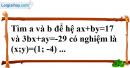 Bài 3.1, 3.2 phần bài tập bổ sung trang 10 SBT toán 9 tập 2