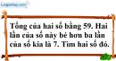 Bài 35 trang 13 SBT toán 9 tập 2