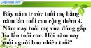 Bài 36 trang 13 SBT toán 9 tập 2