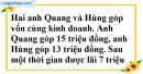 Bài 38 trang 13 SBT toán 9 tập 2