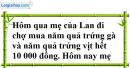 Bài 39 trang 13 SBT toán 9 tập 2