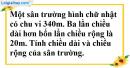 Bài 40 trang 13 SBT toán 9 tập 2