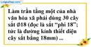 Bài 41 trang 13 SBT toán 9 tập 2