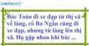 Bài 47 trang 14 SBT toán 9 tập 2
