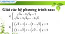 Bài 52 trang 15 SBT toán 9 tập 2