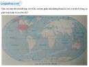 Giải bài 1 trang 19 Tập bản đồ Địa lí 11