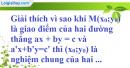 Bài 7 trang 6 SBT toán 9 tập 2