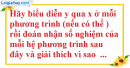 Bài 9 trang 7 SBT toán 9 tập 2