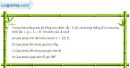 Bài 2 trang 34 sách giáo khoa hình học lớp 11