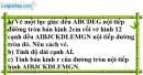 Bài 47 trang 108 SBT toán 9 tập 2