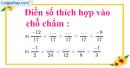 Bài 49 trang 14 SBT toán 6 tập 2