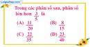 Bài 6.1, 6.2, 6.3, 6.4 phần bài tập bổ sung trang 16 SBT toán 6 tập 2