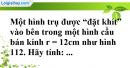 Bài 45 trang 174 SBT toán 9 tập 2