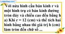Bài 47 trang 175 SBT toán 9 tập 2
