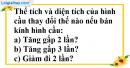 Bài 4.4, 4.5, 4.6 phần bài tập bổ sung trang 177 SBT toán 9 tập 2