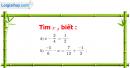 Bài 39 trang 41 Vở bài tập toán 6 tập 2
