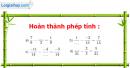 Bài 42 trang 42 Vở bài tập toán 6 tập 2