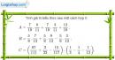 Bài 49 trang 51 Vở bài tập toán 6 tập 2