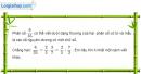 Bài 54 trang 55 Vở bài tập toán 6 tập 2