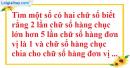 Bài 54 trang 15 SBT toán 9 tập 2