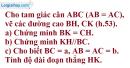 Bài 45 trang 104 Vở bài tập toán 8 tập 2