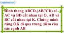 Bài 46 trang 105 Vở bài tập toán 8 tập 2