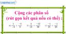 Bài 59 trang 17 SBT toán 6 tập 2