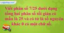 Bài 65 trang 18 SBT toán 6 tập 2