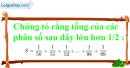 Bài 8.1, 8.2, 8.3, 8.4 phần bài tập bổ sung trang 20, 21 SBT toán 6 tập 2