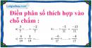 Bài 75 trang 21 SBT toán 6 tập 2