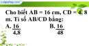 Phần câu hỏi bài 1 trang 65 Vở bài tập toán 8 tập 2