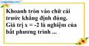 Phần câu hỏi bài 3 trang 44 Vở bài tập toán 8 tập 2