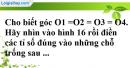 Phần câu hỏi bài 3 trang 75 Vở bài tập toán 8 tập 2