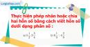 Bài 64 trang 62 Vở bài tập toán 6 tập 2