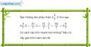 Bài 65 trang 62 Vở bài tập toán 6 tập 2
