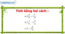 Bài 70 trang 64 Vở bài tập toán 6 tập 2