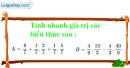 Bài 90 trang 27 SBT toán 6 tập 2