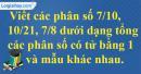 Bài 118 trang 32 SBT toán 6 tập 2
