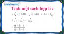 Bài 119 trang 32 SBT toán 6 tập 2