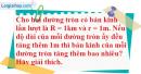 Bài 52 trang 109 SBT toán 9 tập 2