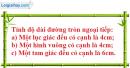 Bài 53 trang 109 SBT toán 9 tập 2